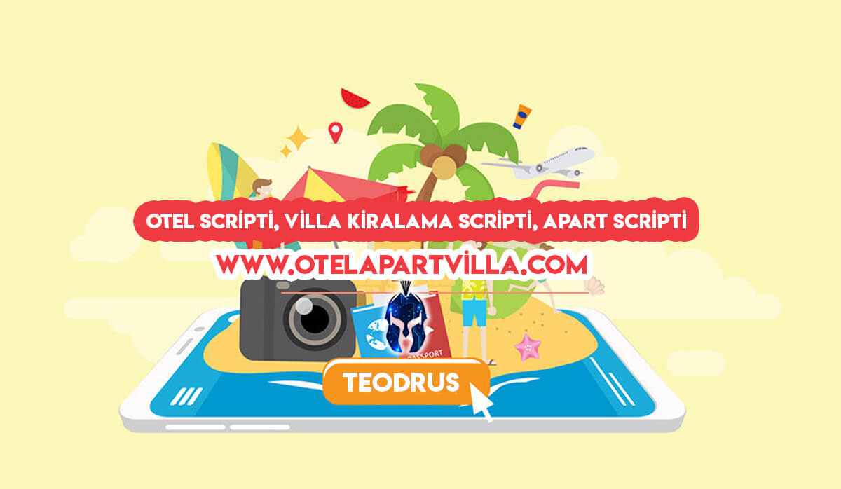 Otel Scripti - Villa kiralama scripti - Apart Scripti
